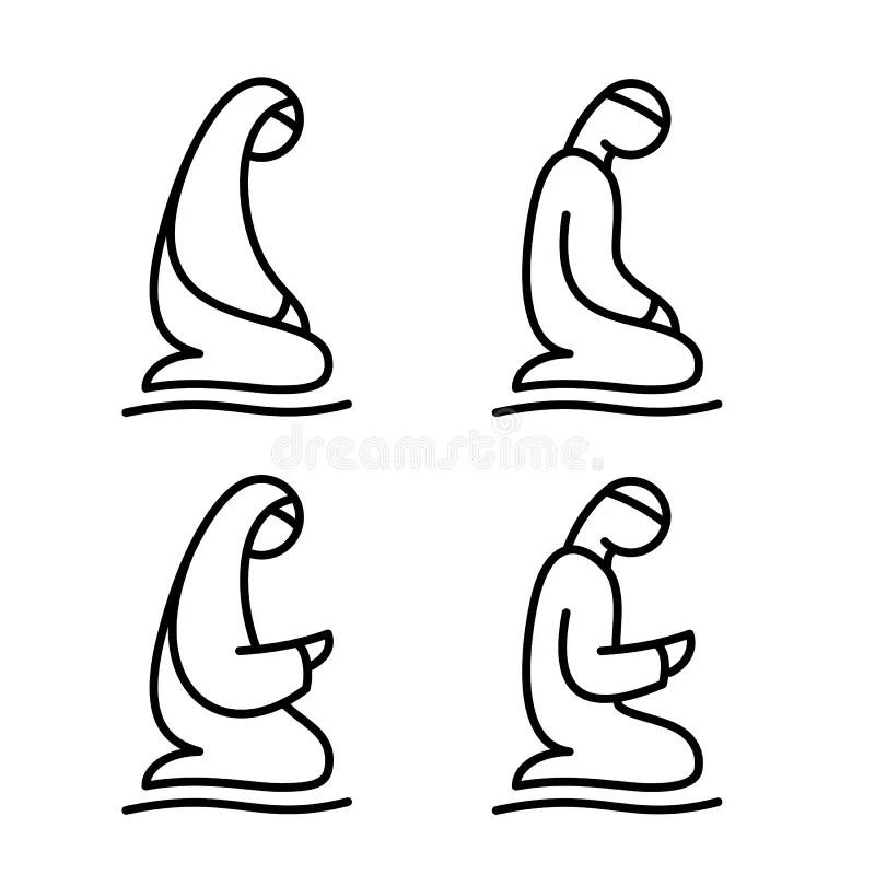 Supplication Stock Illustrations