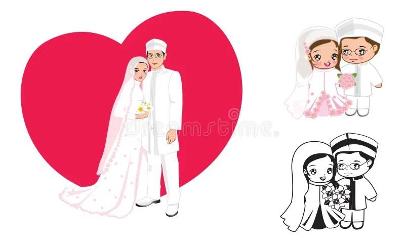 Muslim Wedding Stock Illustrations 7 208 Muslim Wedding Stock Illustrations Vectors Clipart Dreamstime
