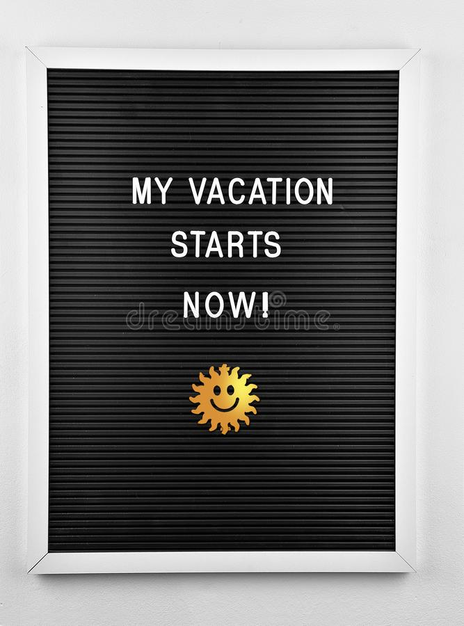 My Vacation Starts Now Stock Photo Image Of Holidays 154692684