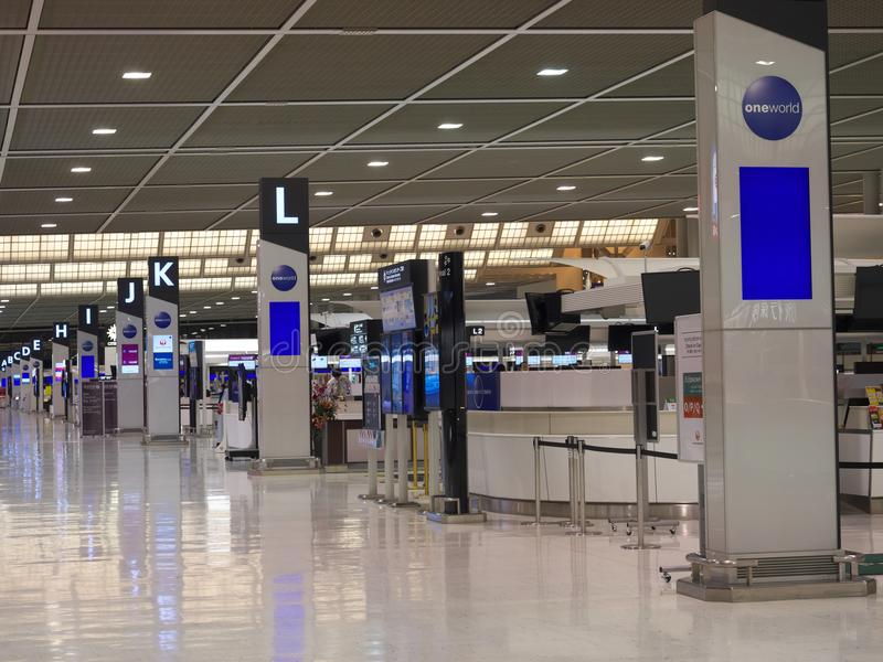 Narita Airport Terminal 2 In The Night Editorial Photography - Image of traveler. counter: 106699897