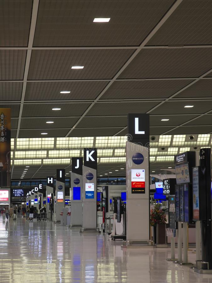 Narita Airport Terminal 2 Early In The Morning Editorial Image - Image of travel. quiet: 101145405