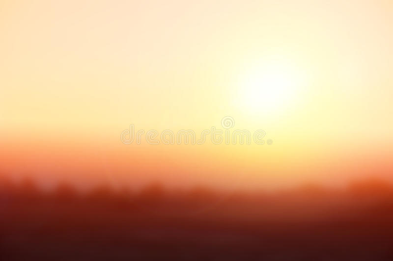 Natural Background Blurringwarm Colors And Bright Sun