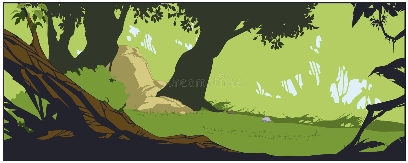 We ship worldwide.landscape showing dense forest painting is available for sale online at fizdi.com. Nature Background Fantasy Landscape Dense Forest Stock Vector Illustration Of Trees Tranquil 201377667