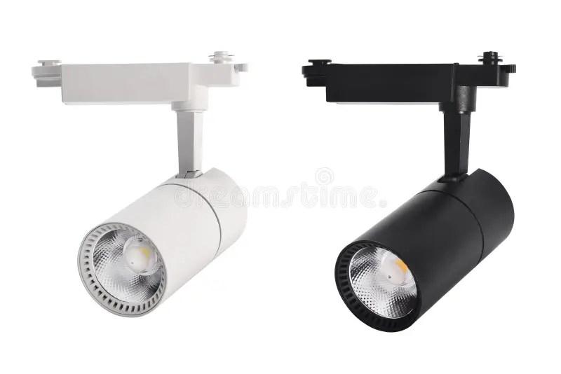led track light stock image image of
