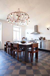 Nice Apartment Refitted, Kitchen View Stock Photos - Image ...