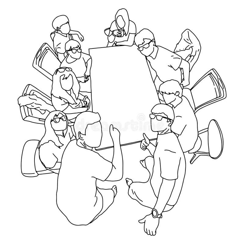 Blank Lines Stock Illustrations