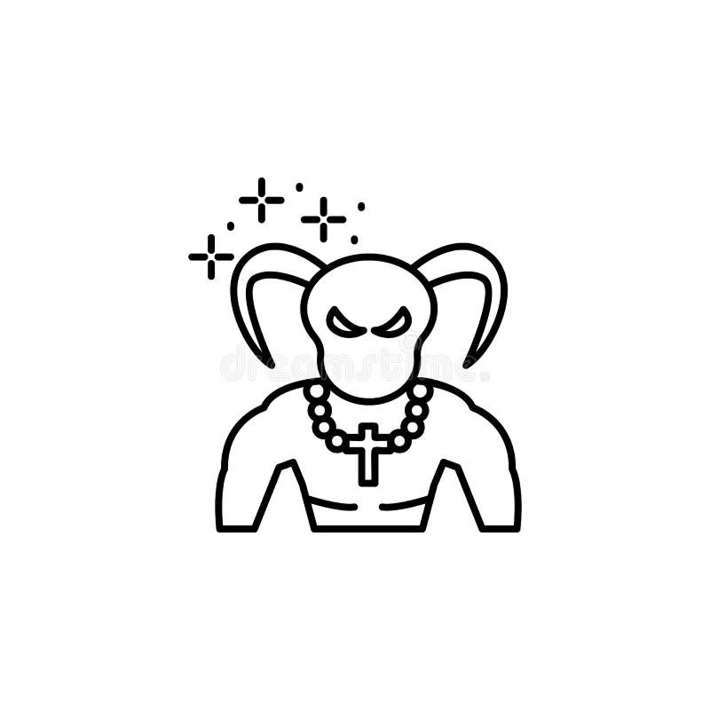 Eye, Pentagram Icon. Element Of Magic For Mobile Concept
