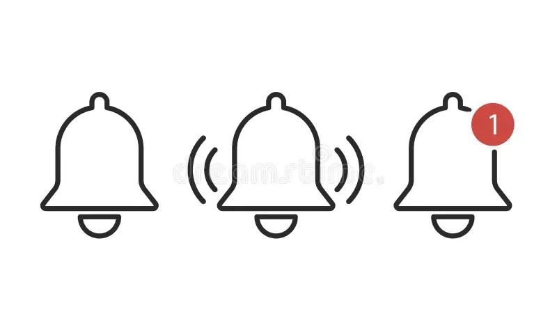 Reminder icon stock vector. Illustration of white, symbol