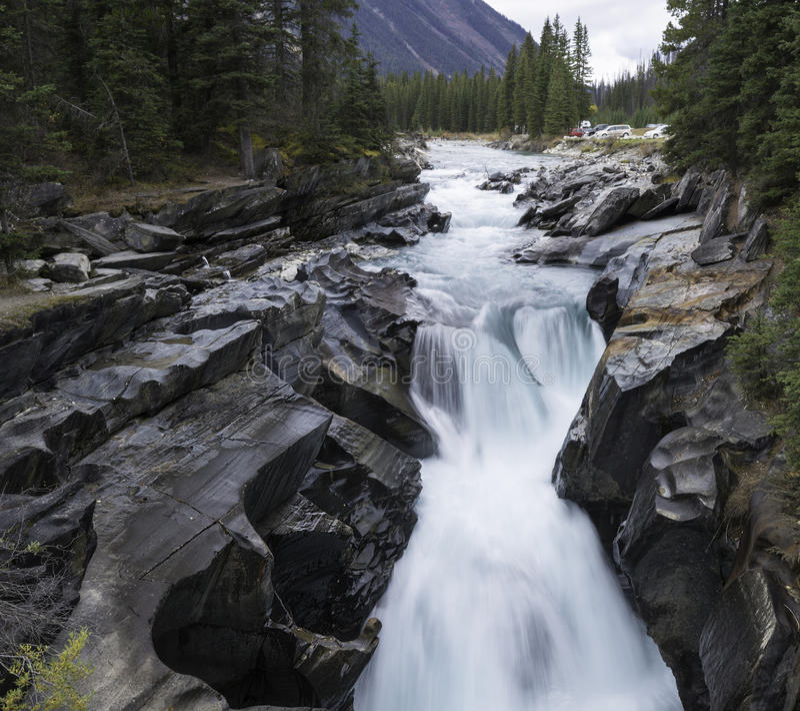 Numa Falls Canada Wallpaper Numa Falls Kootenay National Park Stock Photo Image
