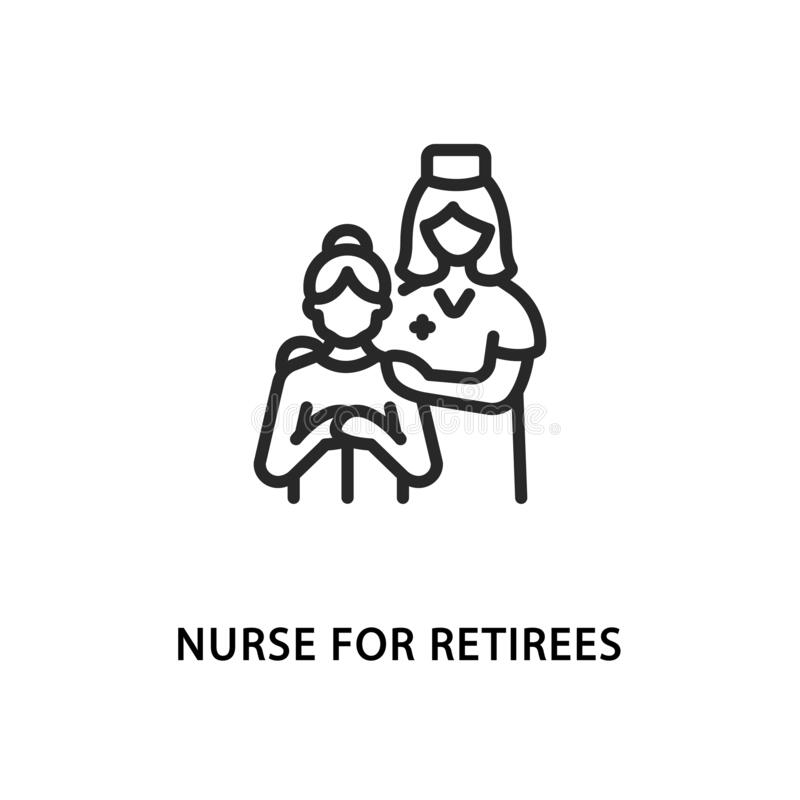Hospice Care Stock Illustrations