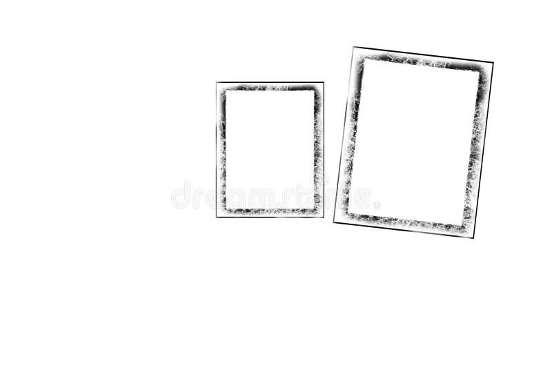 Old Polaroid Frame stock vector. Illustration of camera