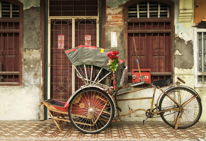 Image result for rickshaw penang