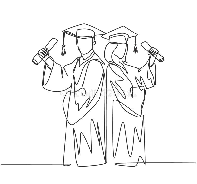 Celebrate Graduate Stock Illustrations