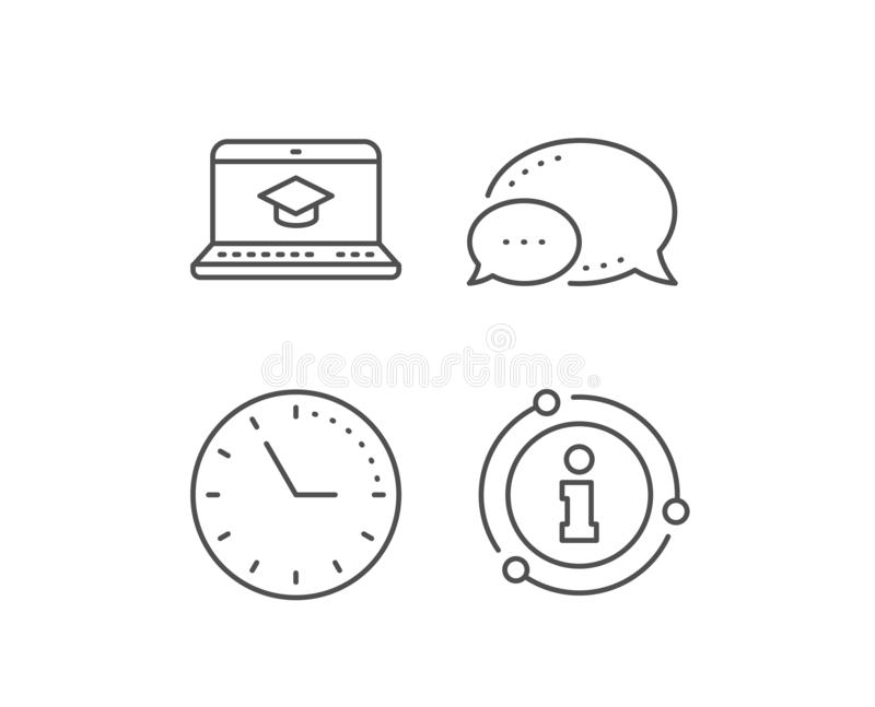 Online Education, Like And Shipping Support Icons Set