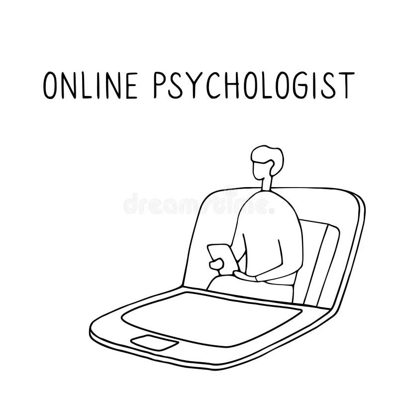 Psychological Help Stock Illustrations