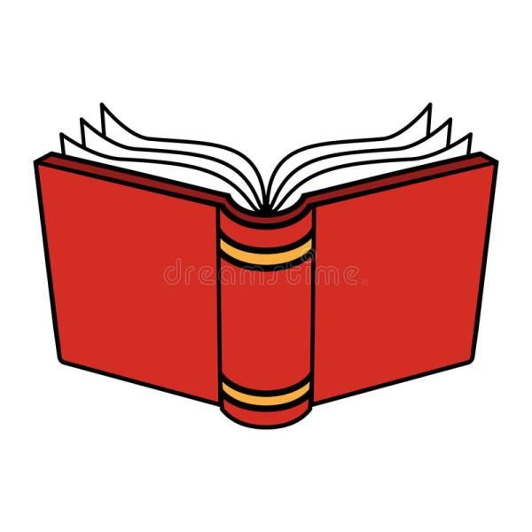 Open Book Stock Vector. Of Interface Publishing