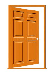 door open porte deur ouverte illustratie opening porta fumetto finestre legno une illustrazione wood trappe isolement panneaux fond bois blanc