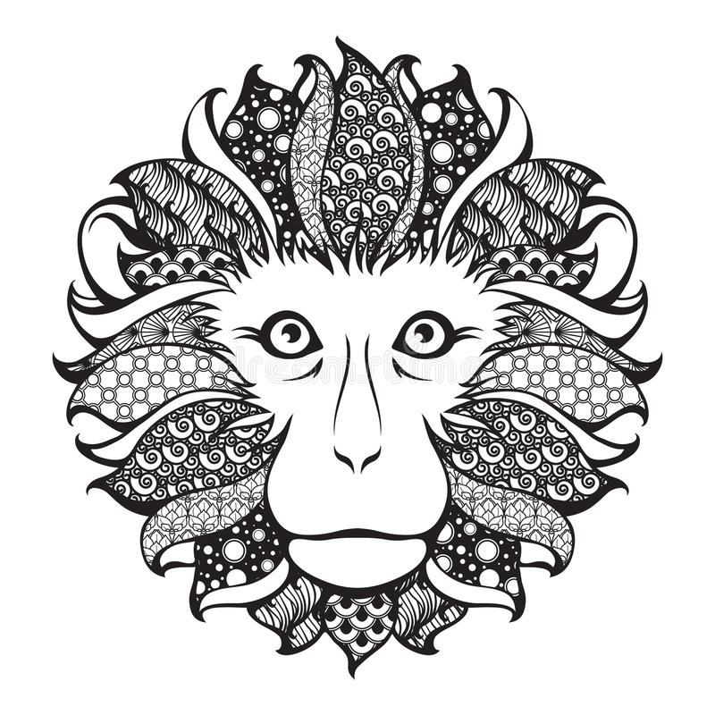 Ornamental Head Stock Illustrations