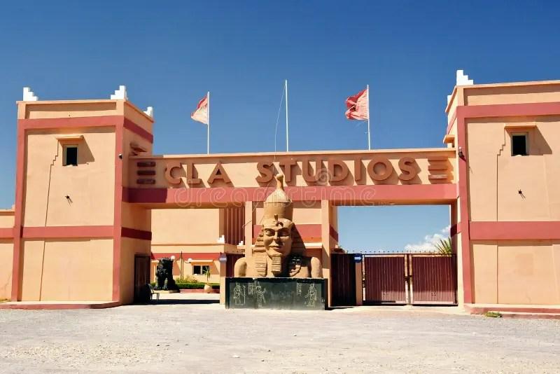 Ouarzazate Film Studios In Morocco Editorial Photo  Image