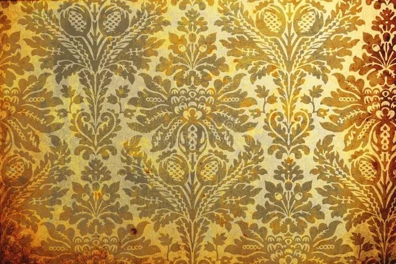 Antiek behang stock illustratie Illustratie bestaande uit