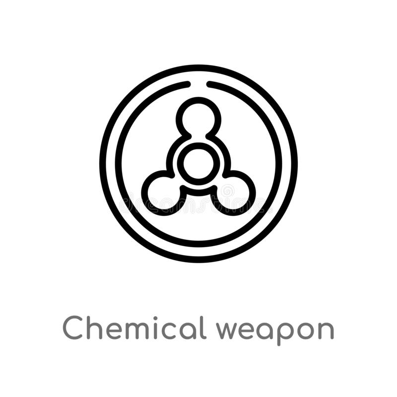 Chemical Weapon By Mad Scientist Stock Vector