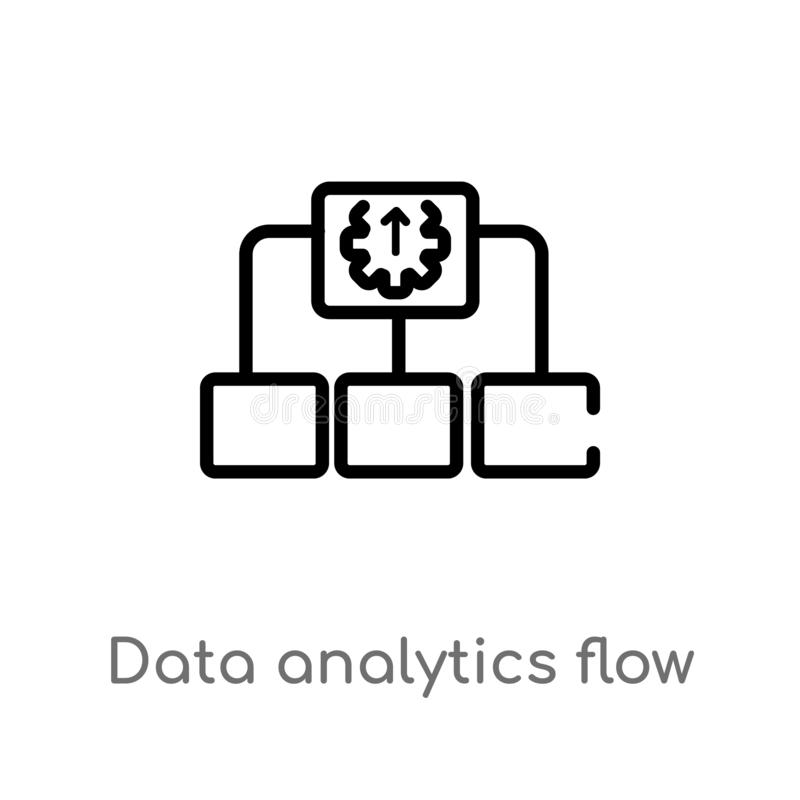 User Flow Isolated Icon. Simple Element Illustration From