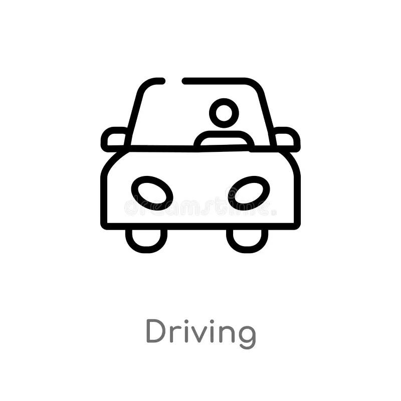 Driving test stock vector. Illustration of learner