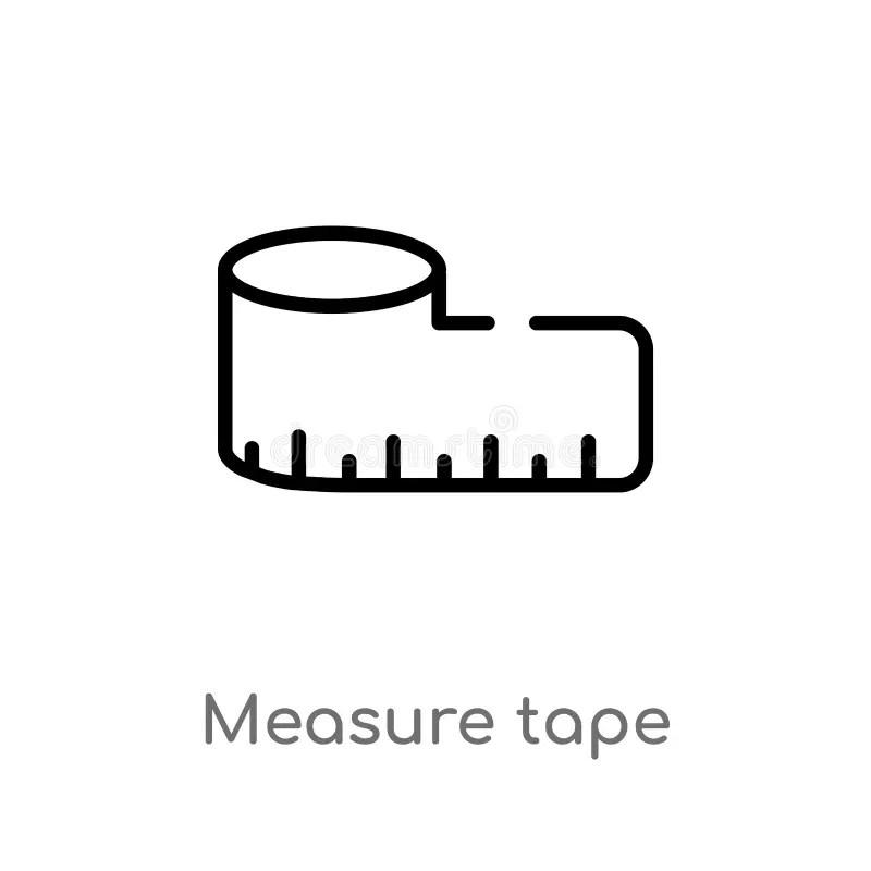 Tape Measure Ruler Vector Illustration Stock Vector