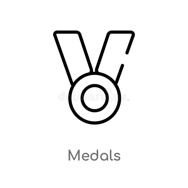 Medals stock illustration. Illustration of drawings