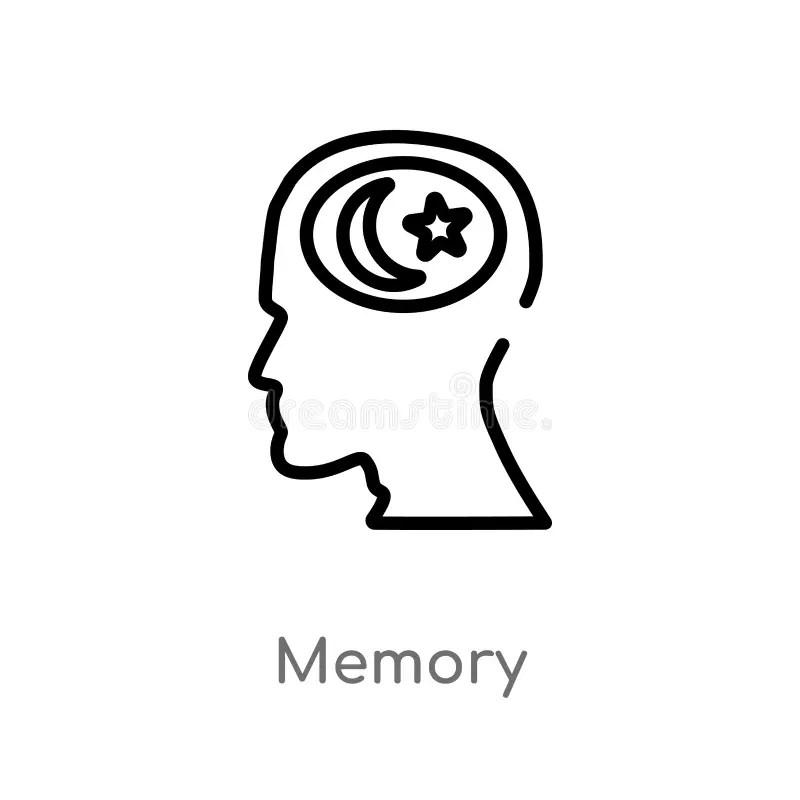 Memory process stock illustration. Illustration of reading