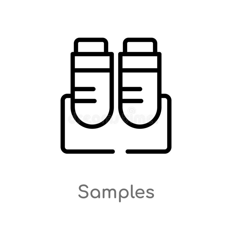 Two Vector Samples Of Design With Decorative Tree Stock
