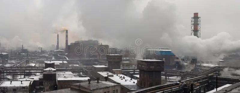 Paesaggio industriale immagine stock Immagine di