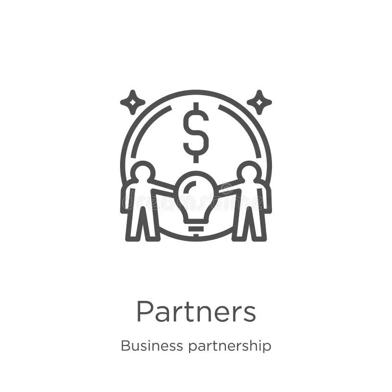 Business Partner Icon, Success Icon Stock Illustration