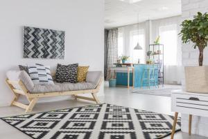 patterned carpet visitas sala kitchenette tapete modelado living texture