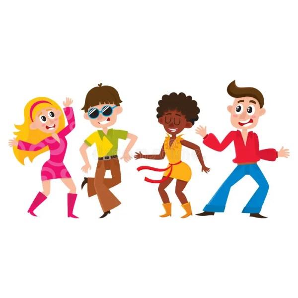 Black Person Dancing Cartoon