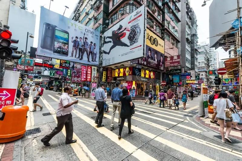 People Shopping Ladies Market Mong Kok Kowloon Hong Kong Editorial Image - Image of city. editorial: 49694555