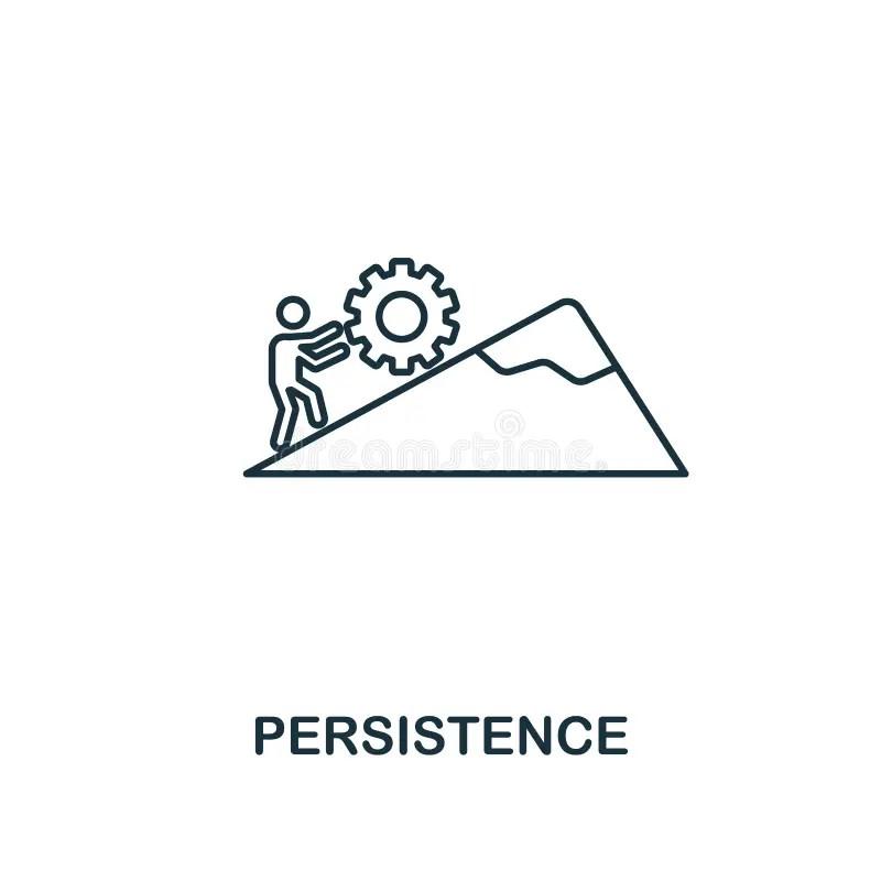 Persistence Stock Illustrations