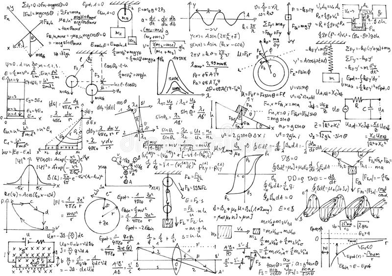 Physics stock image. Image of mathematics, calculation