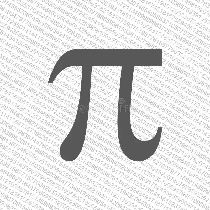 Pi Number Sign Stock Illustrations