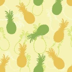silhouette pineapple line decorative pattern ripe het jui rijpe decoratieve achtergrond juicy plant
