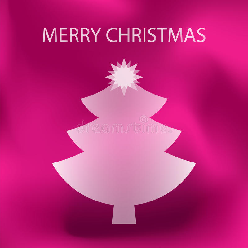 Pink Merry Christmas Stock Vector Illustration Of Design