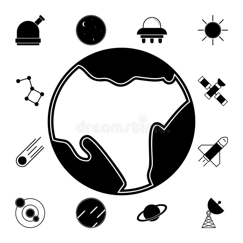Space Hole Icon. Element Of Space Icons. Premium Quality