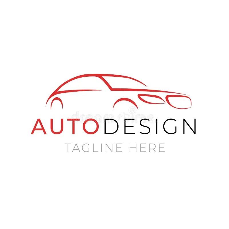 Plantilla Auto Del Logotipo Diseño Del Servicio Del Coche