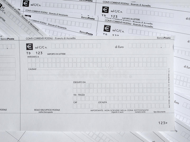 Tax forms stock image. Image of dollar, document