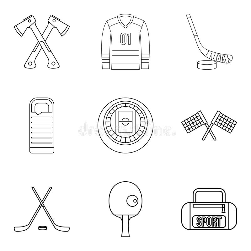 Outline Preparation Vector Icon. Isolated Black Simple
