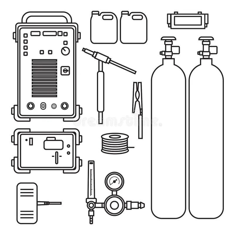 Oxygen cylinder stock illustration. Illustration of grey