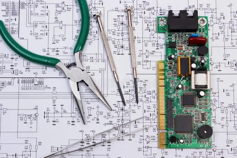 Real Time Electronic Circuit Simulator