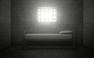 prison cell window barred through dark solitary prisoner shining pennsylvania death inmates confinement row illustration judge pittsburgh ends against