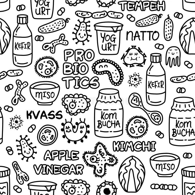 Bacteria background stock illustration. Illustration of