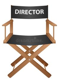 Producer Chair Stock Vector - Image: 62302967